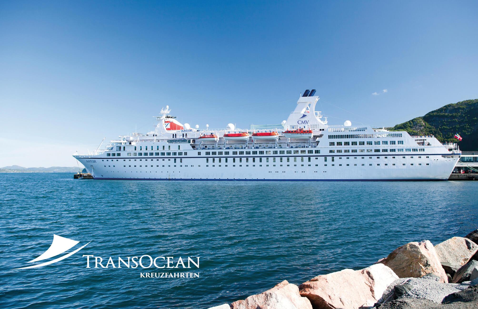 Gewinnspiel mit TransOcean Kreuzfahrten