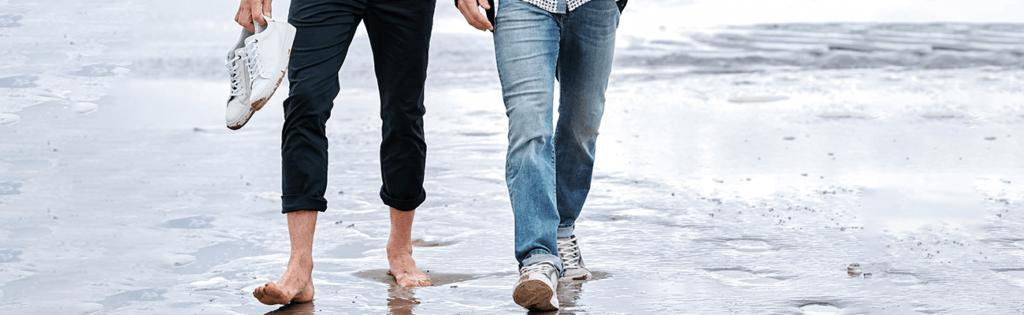 Schuhpflege: Was sollte ich beachten ? - Strand