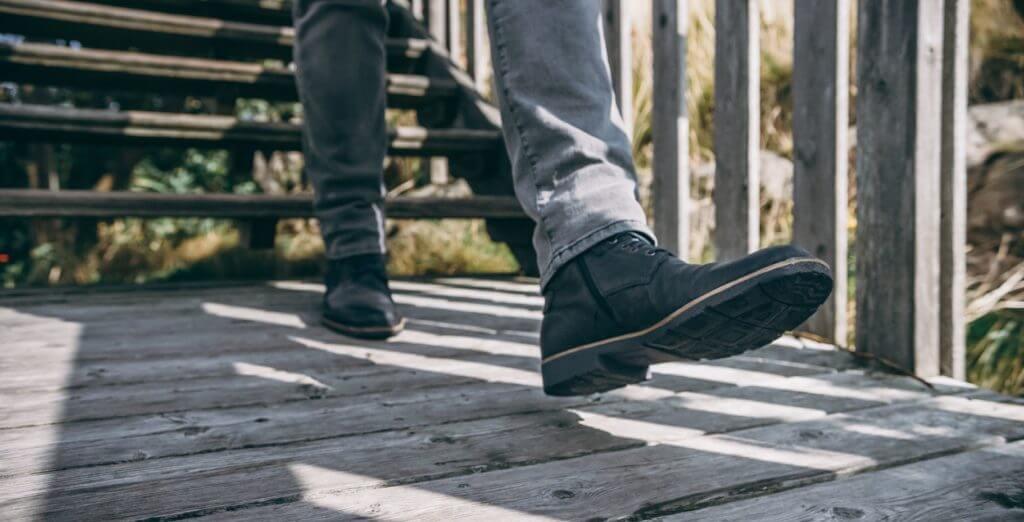 Schuhpflege - Herren Boots in dunkelblau