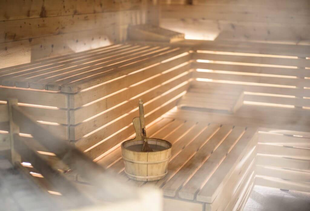 Entspannung im Taubersunterwirt - Sauna