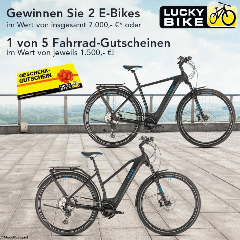 Gewinnspiel Lucky Bike Grafik