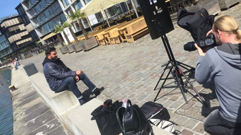 Behind the Scenes – XXL-Shooting in Münster