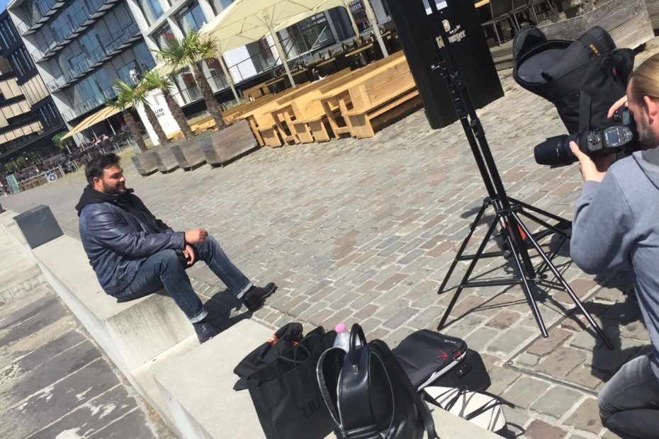 Behind the Scenes – XXL-Shooting in Münster