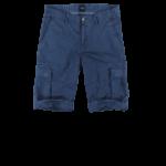 Schmeichelnde Kleidungsstücke für den Sommertyp - Herren Bermuda in blau