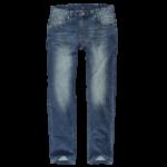 Schmeichelnde Kleidungsstücke für den Sommertyp - Herren Jeans in blau