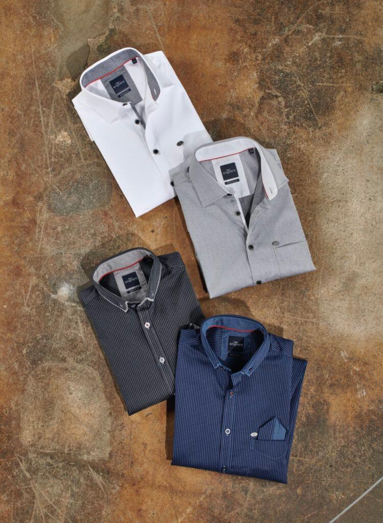 Premiumhemden für jeden Anlass - Hemden in weiß, grau, schwarz,blau