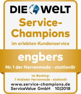 Auszeichnung - Service-Champion engbers