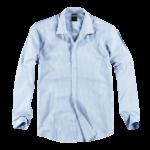 Schmeichelnde Kleidungsstücke für den Sommertyp - Hemd hellblau
