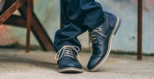 Herren Boots in dunkelblau