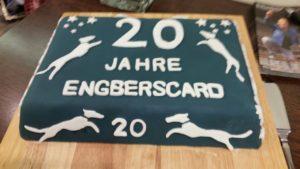 20 Jahre engbersCard - Geburtstagskuchen