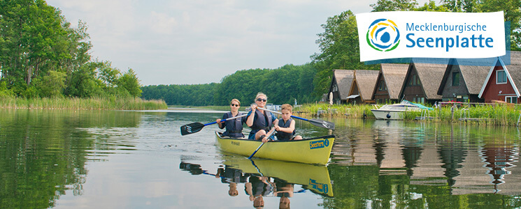 Gewinnspiel Mecklenburgische Seenplatte Kanu