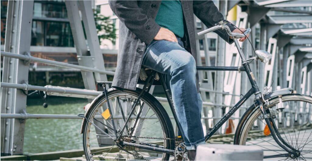 Fahrrad fahren für den Klimaschutz - Orcin