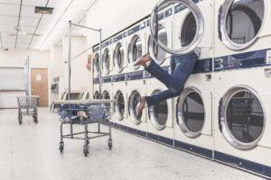 Jeans-Hosen waschen und trocknen - oder besser nicht