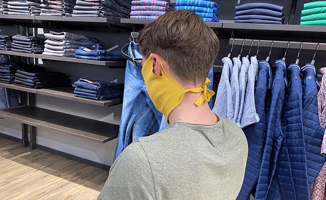 Mundschutzmaske zum selberbasteln