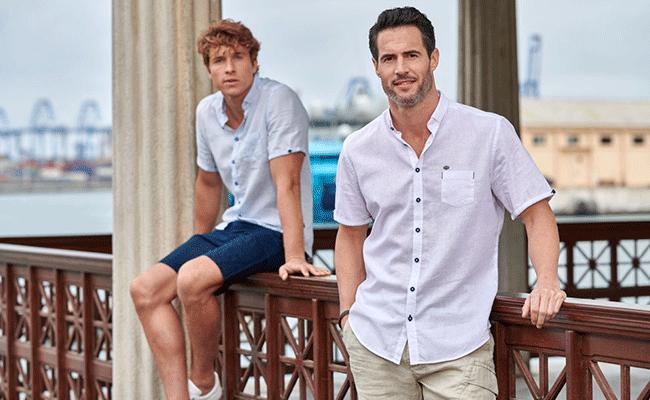 Leinen - Hemden & Shorts