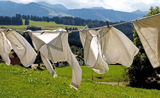 Wie wäscht man Leinenkleidung richtig ?