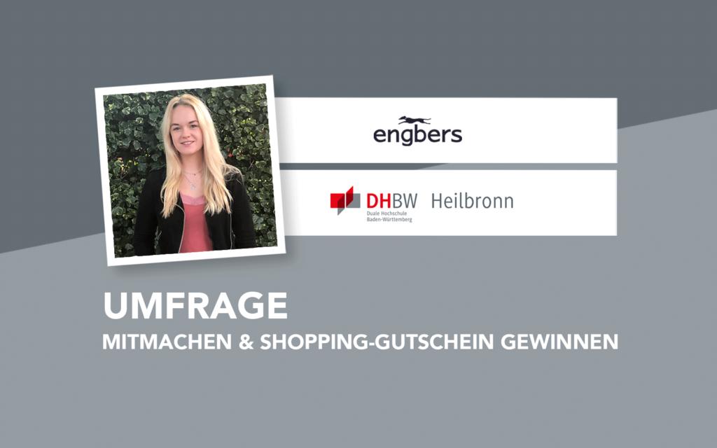 Umfrage: Mitmachen & Shopping-Gutschein gewinnen
