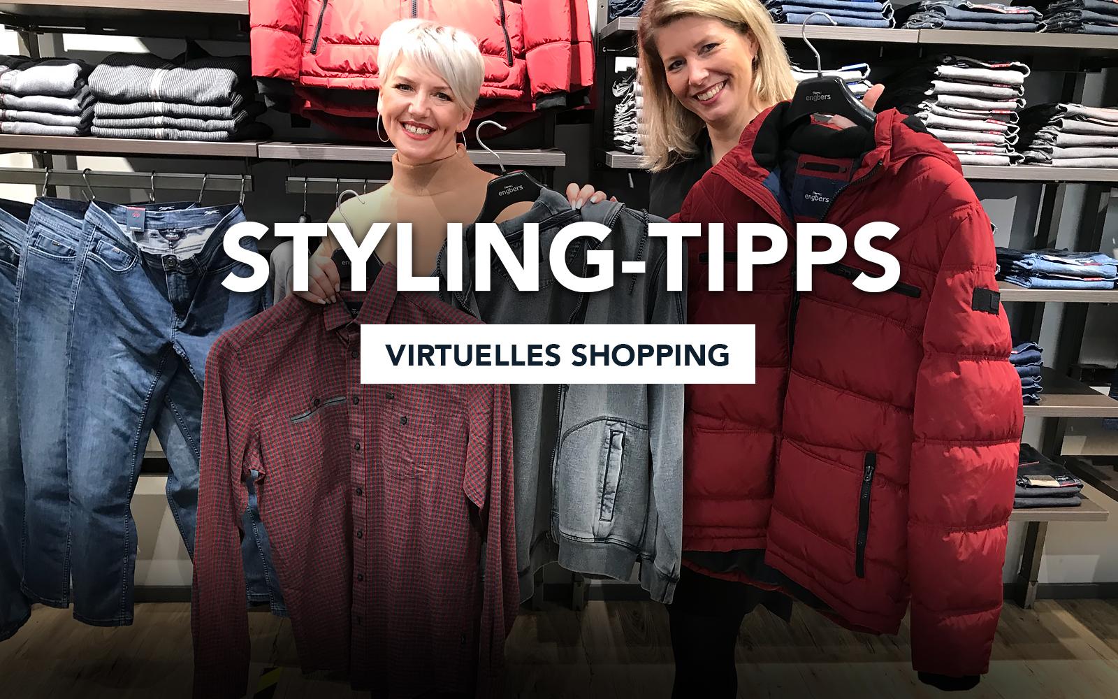 Styling-Tipps Virtuelles Shopping