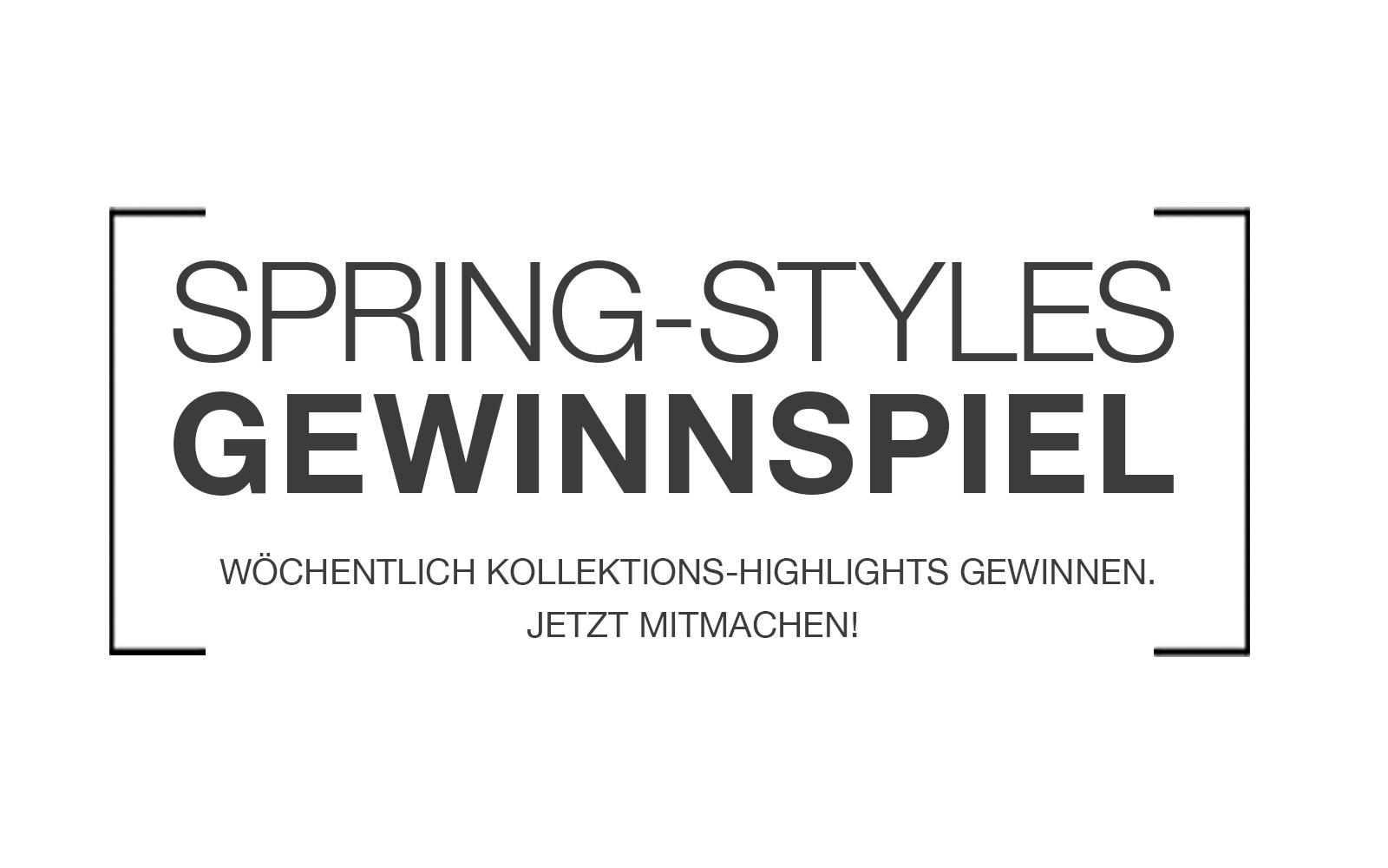 Gewinnspiel Spring Styles